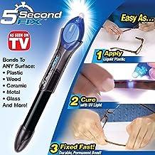 5-Second Fix/Fill/Seal/Repair UV Light Glue Liquid-Plastic Welding Tool Pen