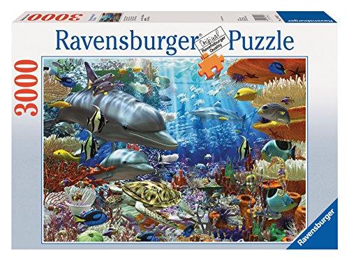 Ravensburger Dolphin - Ravensburger Oceanic Wonders - 3000 Piece Puzzle