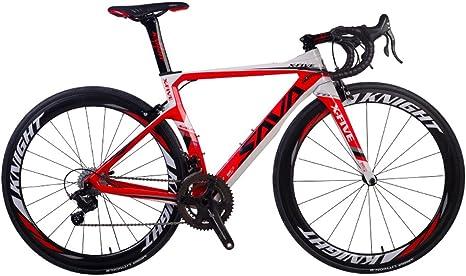 SAVADECK Phantom 8.0 700C Bicicleta de Carretera con Fibra de ...