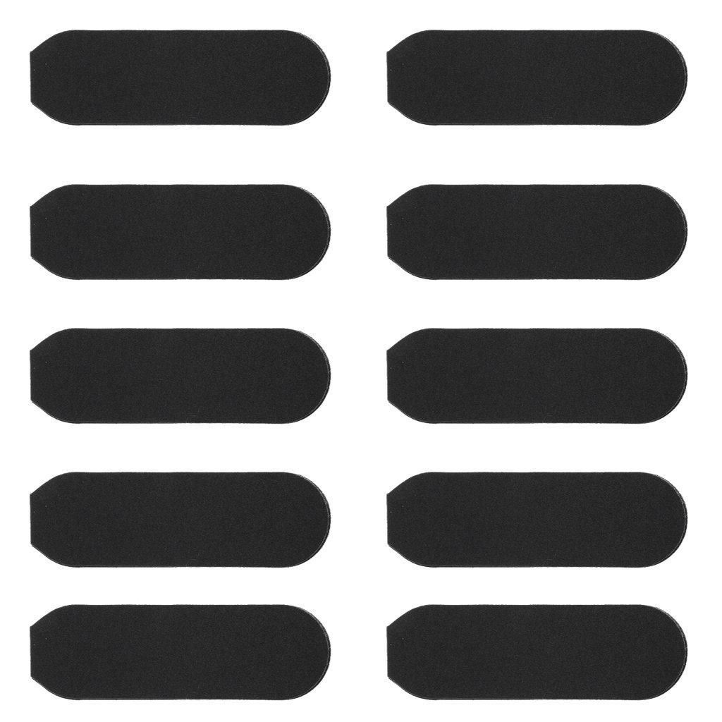 Baoblaze 10 Pezzi di Auto-adesivo Carta Vetrata che Carta Duro Carta Vetrata Raschietto Pelle Morta Remover
