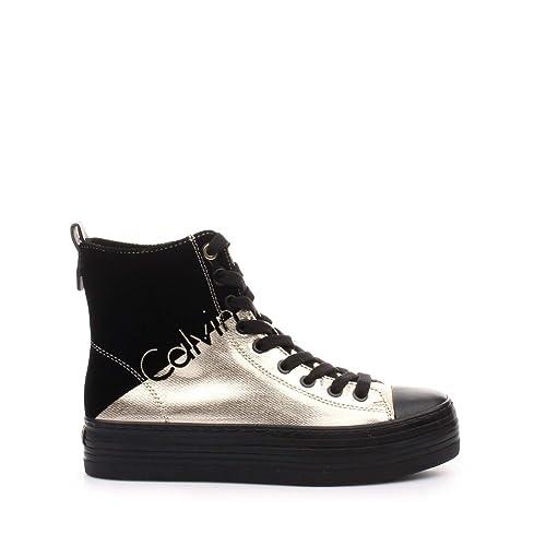 Calvin Klein 5441 - Zapatillas para Mujer Negro Size: 37 EU: Amazon.es: Zapatos y complementos