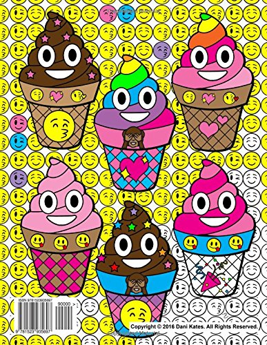 Emoji World Coloring Book 24 Totally Awesome Coloring Pages Amazon