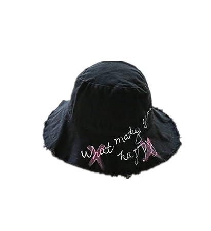 66a3261417a Amazon.com  micrkrowen Hand-Painted Gross Edge Fisherman Hat ...