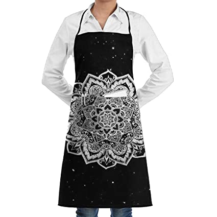 Amazon com: CIliik 3D Print Art Printing Apron with One Big
