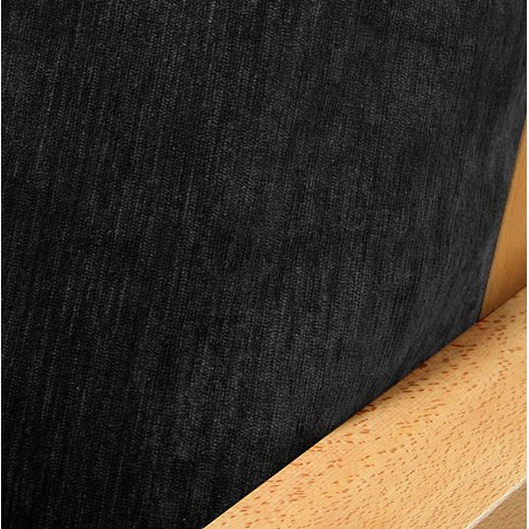 SlipcoverShop Chenille Onyx Fitted Mattress Cover Twin 226