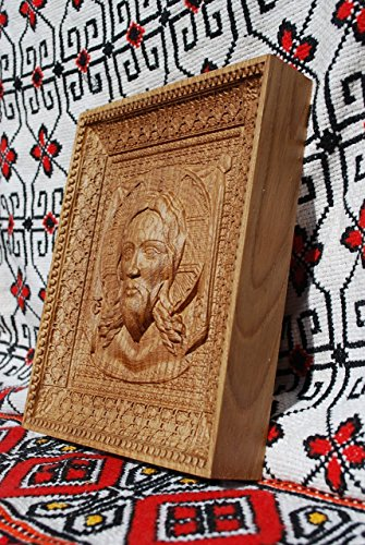 Veil of Veronica Religious icons Personalized engraved gift Wood Carved religious wall decor FREE ENGRAVING FREE SHIPPING by Woodenicons Artworkshop ''Tree of life'' (Image #2)
