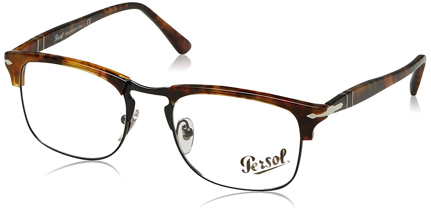 6e32973d20ab5 Persol Men s PO8359V Eyeglasses 53mm at Amazon Men s Clothing store