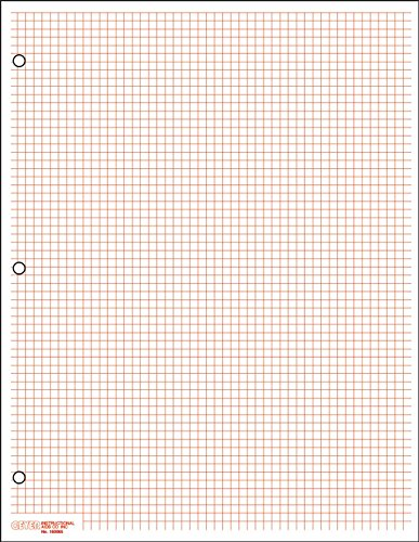 geyer-instructional-products-150065-classic-graph-paper-1-6-red-pack-of-500