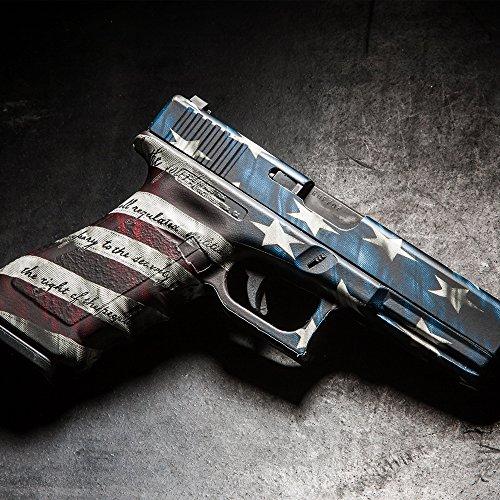 Best Deals! GunSkins Pistol Skin Camouflage Kit DIY Vinyl Handgun Wrap with precut Pieces
