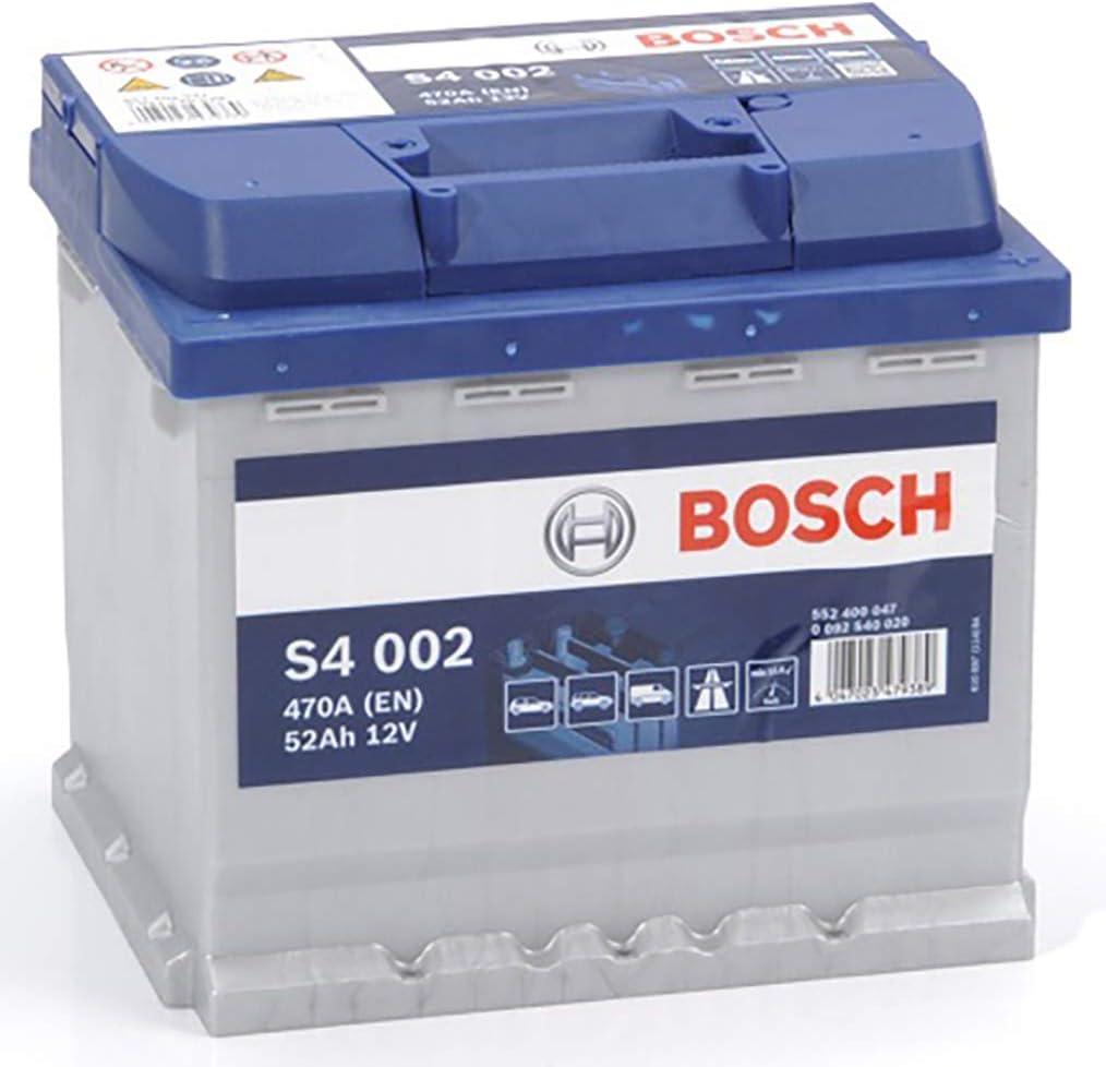 Bosch S4002 Batería de automóvil 52A/h-470A