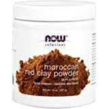 Now Foods Red Clay Powder Moroccan, 14 Ounce