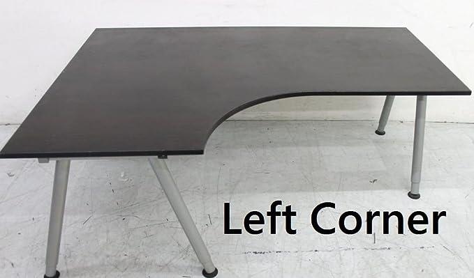 IKEA - 6 escritorios de Esquina (Abedul, Negro, Haya, Blanco, Gris ...
