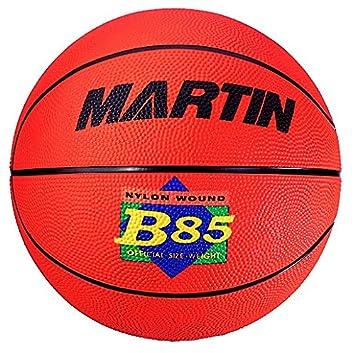 Martin Sports 5en caoutchouc, EN NYLON Cordes de basketball, Junior B85-ORANGE MARTIN SPORTS INC