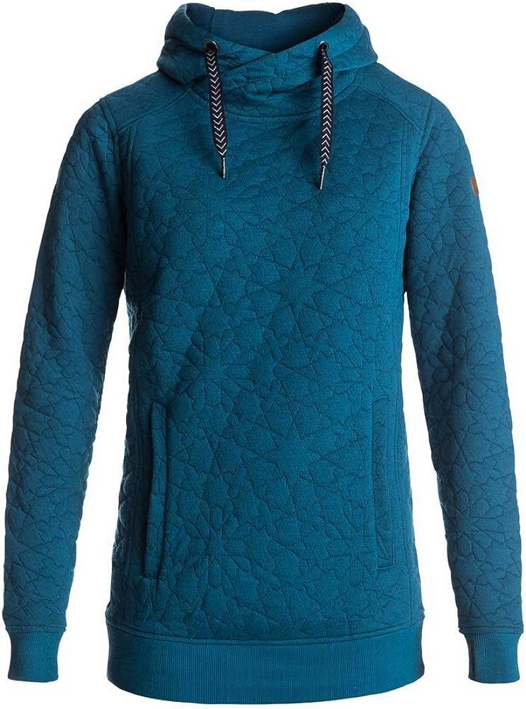 Wofupowga Womens Plush Winter Pullover Pocket Hooded Top Sweatshirts