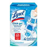 Lysol Click Gel, Continuous Cleaning Toilet Bowl Cleaner, Ocean Fresh, 4 Count (packaging may vary)
