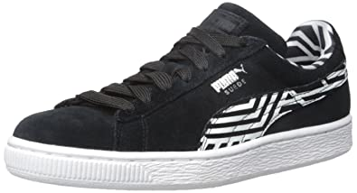Amazon.com   PUMA Women s Suede Classic + Stripes WN s-W   Fashion ... 116a15a33d