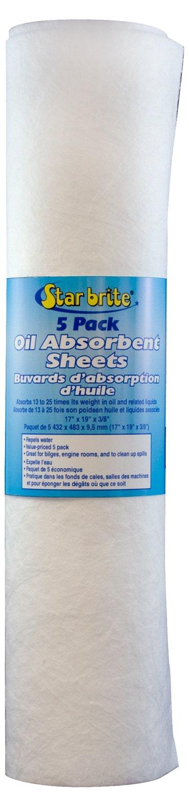 Star brite Bilge Oil Pads 5 Pack - 5 Pack