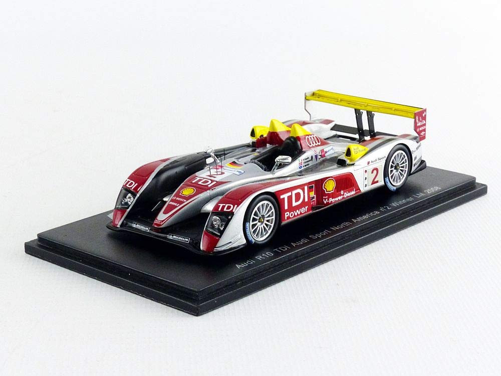 Spark 43LM08 Miniature Collection Car Black / Red / Silver