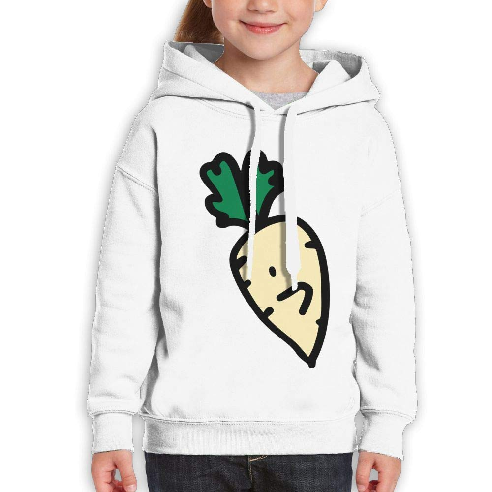 Not Happy Surprised Carrot Unisex Hoodies Long Sleeve Sweatshirts for Girls'
