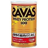 明治 SAVAS(ザバス) ホエイプロテイン100 ココア味【18食分】 378g
