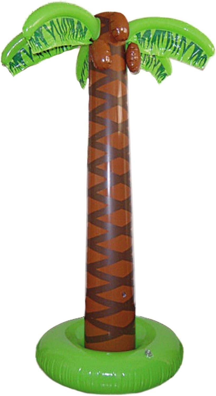 Smiffys-Inflable Palmera, 165cm aprox, hinchable, color marrón, No ...