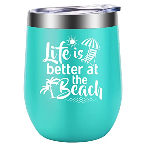 Amazon.com: Life is Better at the Beach - Regalos de playa ...