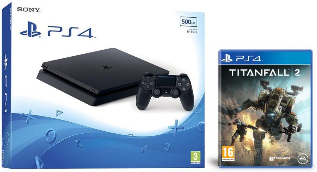 PlayStation 4 Slim (PS4) 500 GB - Consola + Titanfall 2: Amazon.es: Videojuegos