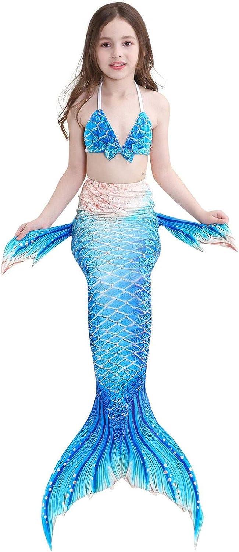 FANCYINN Ragazze Cosplay Costumi da Bagno Mermaid Shell Costume da Bagno 3pcs Insiemi del Bikini