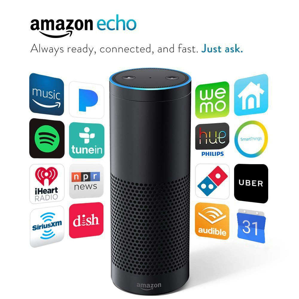 Amazon Echo - Black (1st Generation)