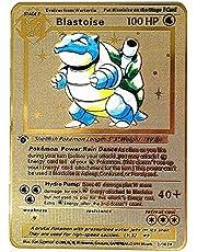 Pokemon Metal Cards Roestvrijstalen Materiaal Creatieve Geschenken Decoraties Kinderen Geschenken (1 stuks Mewtwo)