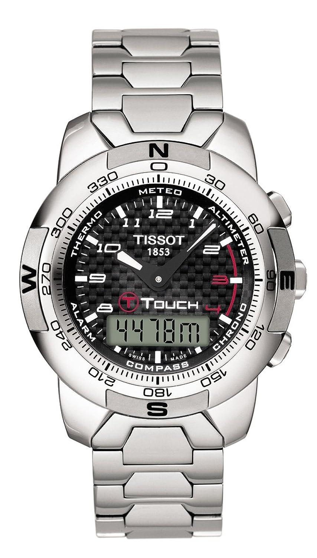 [ティソ]TISSOT 腕時計 T-TOUCH T33788892 ポリッシュドチタン メンズ [正規輸入品] B001AZUB26