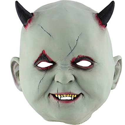 1786bb1da2a Amazon.com: sweetyhomes Mask Vampire Mask Little Devil Halloween ...