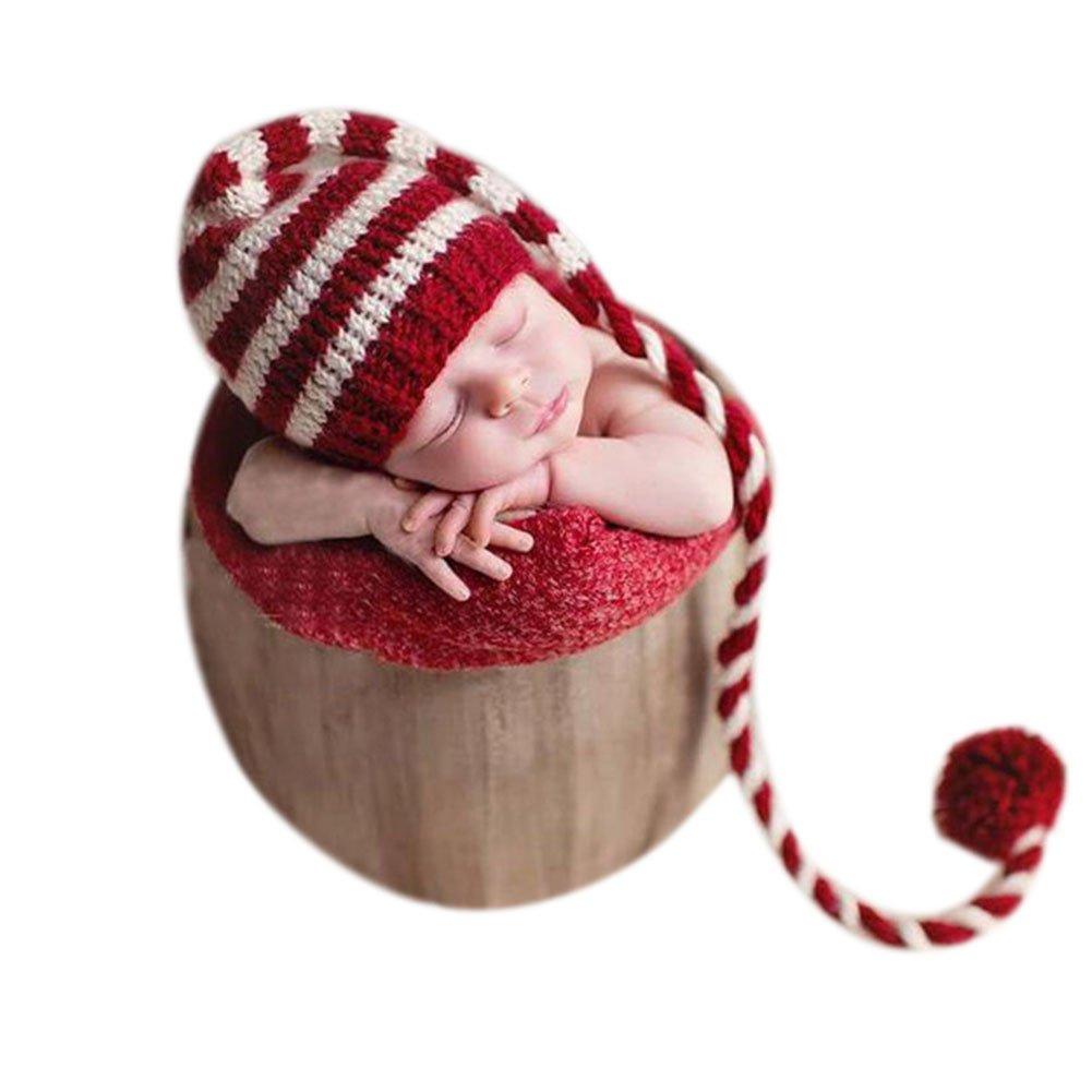 Nouveau-né Bébé Photographie Accessories Garcon Fille Des Costumes Tenues Chapeaux Binlunnu