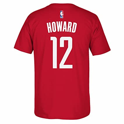 75c1d73380f adidas Dwight Howard Houston Rockets NBA Men's Red Name & Number Player  Jersey T-Shirt