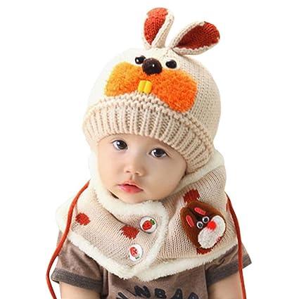 Otoño invierno Niños niñas collar del bebé bufanda de algodón Cuello  redondo Bufandas (A) 079ed407d94