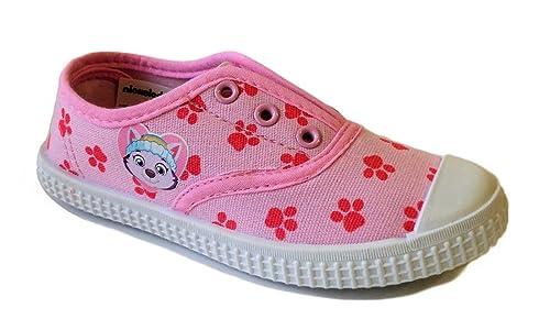 Zapatillas Casual Lona Patrulla Canina Rosa: Amazon.es: Zapatos y complementos