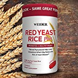 Cheap Weider Red Yeast Rice Plus with Phytosterols 1200 mg per 2 Tablets – Larger Size pack of 240 Tablets ICH#I