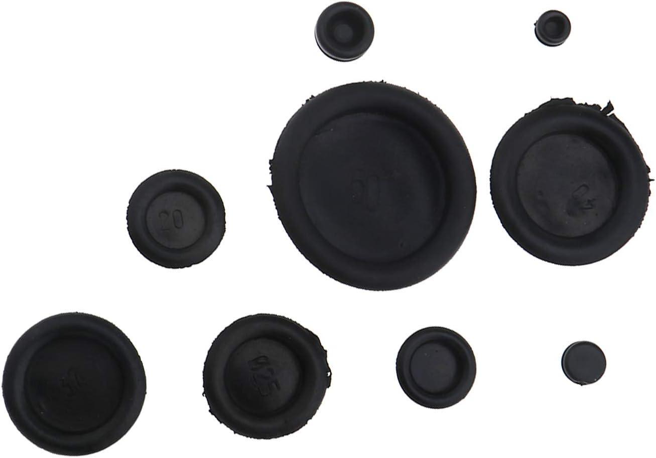 /50/mm Store ferm/é C/âbles de c/âblage /électrique Grommet kit ENET c/âble Blanking /œillets dobturation en Caoutchouc 6/mm/