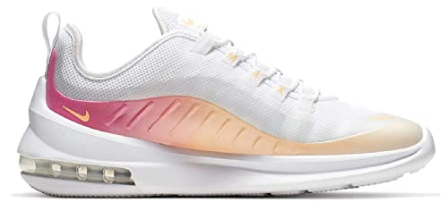Nike Damen WMNS Air Max Axis Prem Leichtathletikschuhe, weiß/orange/Rosa