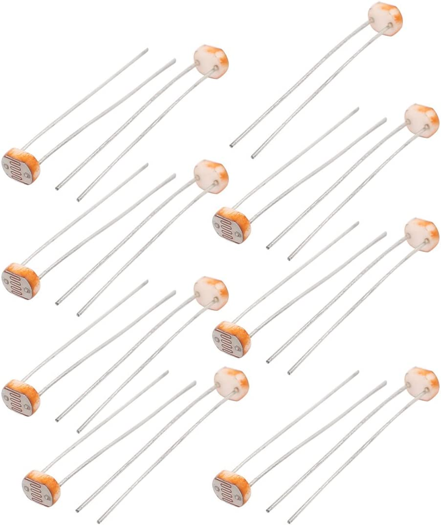 fotoresistenza LDR Oscurità RIVELATORE Luce resistore dipendente