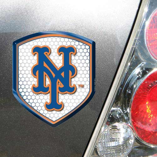 MLB New York Mets Team Shield Automobile Reflector ()