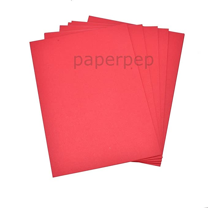FREE POSTAGE BRIGHT RED  A4 CARD STOCK 200GSM YOU CHOOSE AMOUNT