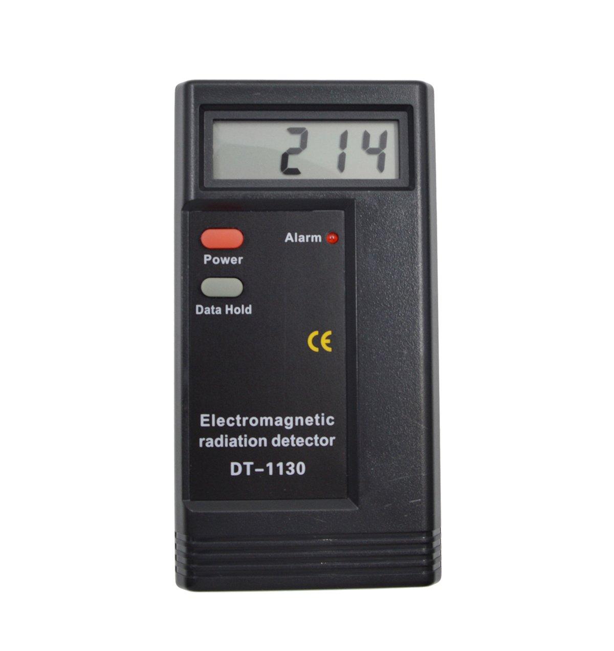 iParaAiluRy Haute qualité numérique rayonnement électromagnétique détecteur DT-1130 capteur indicateur EMF Testeur dosimètre DT1130 Teste ELECSA01665-FBA