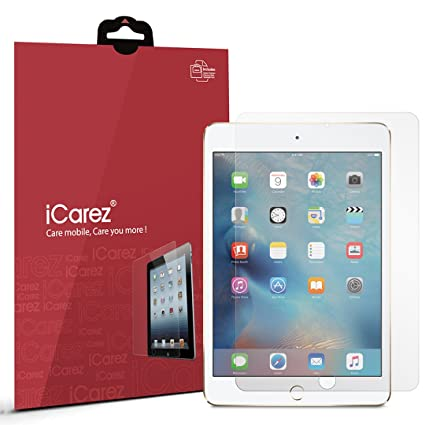iCarez [Anti-Glare ] Matte Screen Protector for Apple iPad Mini 4 / iPad  Mini 5 2019 7 9-inch Easy to Apply with Hinge Installation [2-Pack Not  Glass]