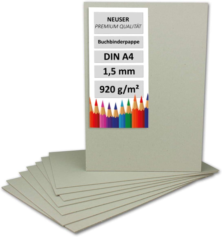 Libro Binder cartón DIN A4(grosor 1,5mm, gramaje: 920g/m² | Formato: 297x 210mm