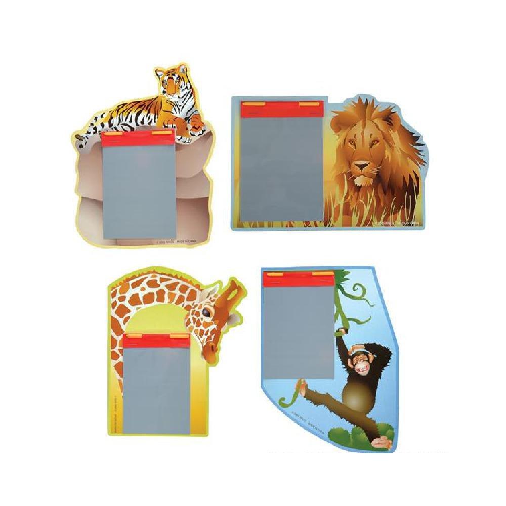 Safari Animal Magic Pad (With Sticky Notes)