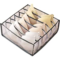 Underwear Organizer Drawer Divider, Foldable Breathable Storage Boxes Closet Dividers Dresser Clothes Drawer Organizers…