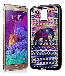Aztec Tribal Space Elephant Hipster Pattern Phone Case Cover Designs for Samsung Galaxy Note 4