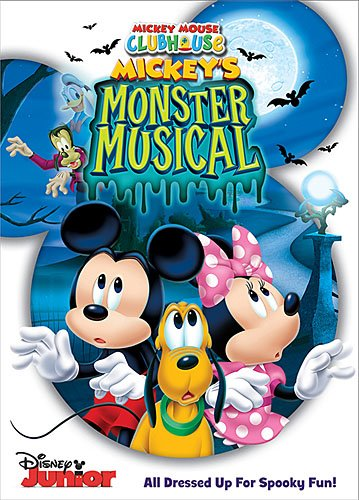 Mickey Mouse Clubhouse: Mickey's Monster (All Halloween Disney Movies)