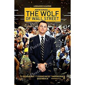 amazoncom the wolf of wall street 2013 27 x 40 movie